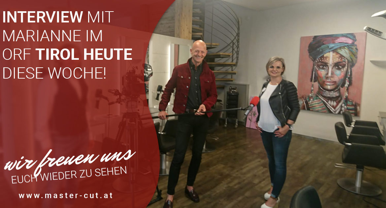 Master Cut Interview Marianne Schimann ORF Tirol Heute Kurt Arbeiter
